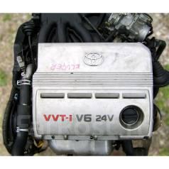 Двигатель в сборе. Toyota: Avalon, Sienna, Harrier, Camry, Kluger V, Highlander, Estima, Alphard Lexus ES300 Lexus RX300 Двигатель 1MZFE