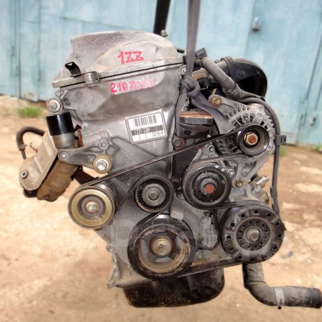 Контрактный б/у двигатель 1ZZ-FE на Toyota