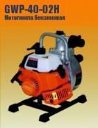 Мотопомпа бензиновая Кратон GWP-40-02H, 15000 л/час, патрубки 40 мм