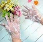 Перчатки полиэтилеговые