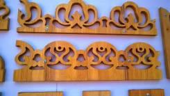 Резные балясины карнизы фризы наличники таблички из дерева