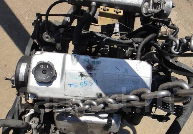 Контрактный б/у двигатель 4G13 трамб. Mitsubishi