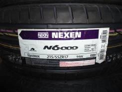 Nexen N6000. Летние, 2013 год, без износа, 4 шт