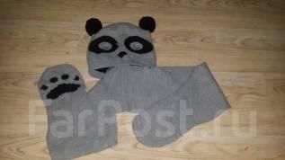 Шапка и шарф. Рост: 146-152 см