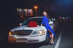 Лимузин Lincoln Town Car на свадьбу от Limo Style. С водителем