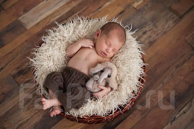 Нежные фотосессии в ожидании. Фотосессия новорожденных.