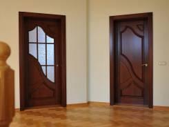 Установка м/к и метал. дверей, отделка откосов.