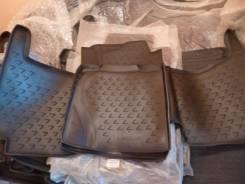 Ковры в салон + багажник Lexus LX 570, полиуретан