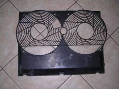 Вентилятор радиатора кондиционера. Mercedes-Benz E-Class, W124, 124 Двигатель 104