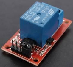 Модуль Реле 1 канал, индикация, Optocoupler, 12v | Паяльникофф