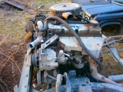 Продам по запчастям двигатель TD27 на nissan datsun