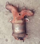 Коллектор выпускной. Toyota Caldina, ET196 Двигатели: 5EFE, 5E, 5EFE 5E