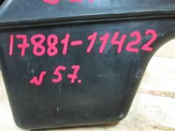 Патрубок воздухозаборника. Toyota Corsa, EL51, EL53 Toyota Corolla II, EL51, EL53 Двигатели: 5EFE, 4EFE