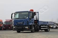 Iveco Eurocargo ML120E MLCR. Iveco Eurocargo бортовой с КМУ Palfinger PK8500 2015 г. в., 5 990 куб. см., 5 000 кг.