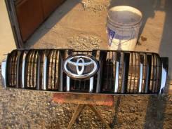 Решетка радиатора. Toyota Land Cruiser Prado, GDJ150, GDJ150L, GDJ150W, GRJ150, GRJ150L, GRJ150W, GRJ151W, KDJ150, KDJ150L, LJ150, TRJ120, TRJ150, TRJ...
