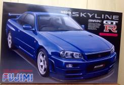 Сборная модель Nissan Skyline BNR34. +Подарок!