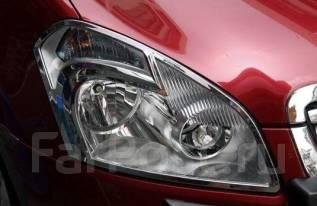 Накладка на фару. Nissan Qashqai, J10 Двигатели: HR16DE, MR20DE. Под заказ