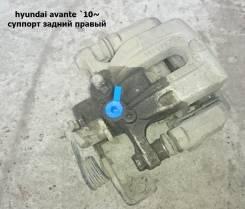 Суппорт тормозной. Hyundai Avante, HD, MD Hyundai Elantra Двигатели: D4FB, L4FA, G4FC, G4GC, G4FD