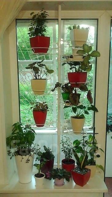 Распорка для цветов на окно