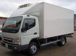 Mitsubishi Canter. Mitsubishi Fuso Canter + сэндвич фургон 6.2 м, 4 800 куб. см., 5 000 кг.