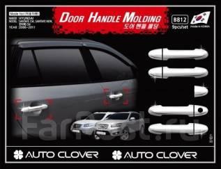 Накладка на ручки дверей. Hyundai Santa Fe