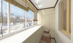 Ваш новый балкон с остеклением и отделкой. Балконные окна. Скидки. Под заказ