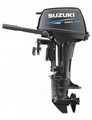 Suzuki. 15,00л.с., 2х тактный, бензин, нога S (381 мм), Год: 2014 год