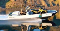 Алюминиевый водометный вездеход Phantom Jet Boats. Год: 2015 год, длина 6,50м., двигатель стационарный, 200,00л.с., дизель. Под заказ