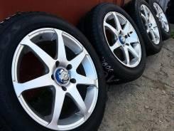 Диски RAYS SS7 R16 +жир лето 205/55R16 Toyota, Honda, Nissan. 7.0x16 5x114.30 ET42 ЦО 73,0мм.