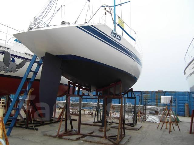 Продается крейсерско-гоночная парусная яхта. Длина 12,41м., Год: 1989 год