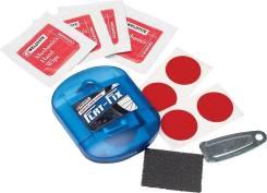 Аптечка для велокамер Flat-Fix с суперзаплатками-самоклейками. (Англия)