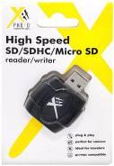 Внешний картридер Xphoto Xit SD/SDHC Microsd Card Reader/Writer (Xtsdc