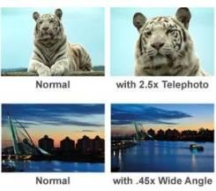 Precision Design 2.5x Telephoto & .45x Wide-Angle Digital Lenses