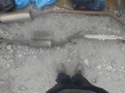 Выхлопная труба. Nissan Wingroad, WFY11 Двигатель QG15DE