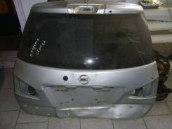 Дверь багажника. Nissan Wingroad, Y12 Двигатель HR15DE