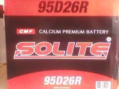 Solite. 85 А.ч., левое крепление, производство Корея. Под заказ