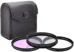 Набор фильтров Xit XT58FLK 58mm Glass Filter Kit (UV-CPL-FLD). диаметр 58 мм