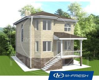 M-fresh Vlad style (Покупайте сейчас проект со скидкой 20%! ). 100-200 кв. м., 2 этажа, 5 комнат, дерево