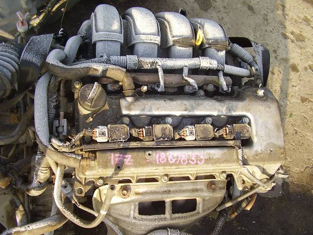 Двигатель Тойота/Toyota 1ZZ-FE / 1ZZFE