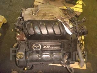 Двигатель в сборе. Mazda Tribute Mazda MPV Двигатели: AJ, AJV6, AJDE