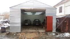 Гараж на 4 машины. вагонная 5, р-н привокзальный, 60 кв.м., электричество