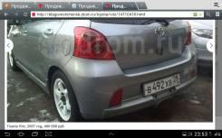 Обвес кузова аэродинамический. Toyota Vitz