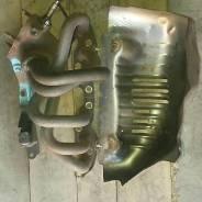 Защита выпускного коллектора. Toyota Mark II, GX100 Двигатель 1GFE