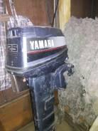 Yamaha. 25,00л.с., 2х тактный, бензин, нога L (508 мм), Год: 2005 год