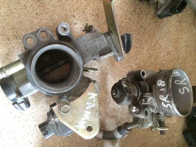 Заслонка дроссельная. Toyota: Duet, bB, Passo, Cami, Sparky, Avanza Двигатели: K3VE, K3VE2, K3VT, K3VET, K3DE