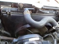 Радиатор охлаждения двигателя. Mitsubishi Pajero Mini, H51A Двигатель 4A30