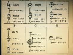 Подушка кузова. Toyota Land Cruiser Prado, VZJ90, KZJ90, KZJ95, RZJ90, VZJ95, RZJ95, KDJ90, KDJ95, 90, 95 Двигатели: 3RZFE, 5VZFE, 1KZTE, 1KDFTV