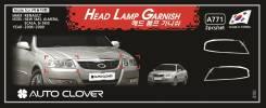 Накладка на фару. Nissan Almera Classic Nissan Almera