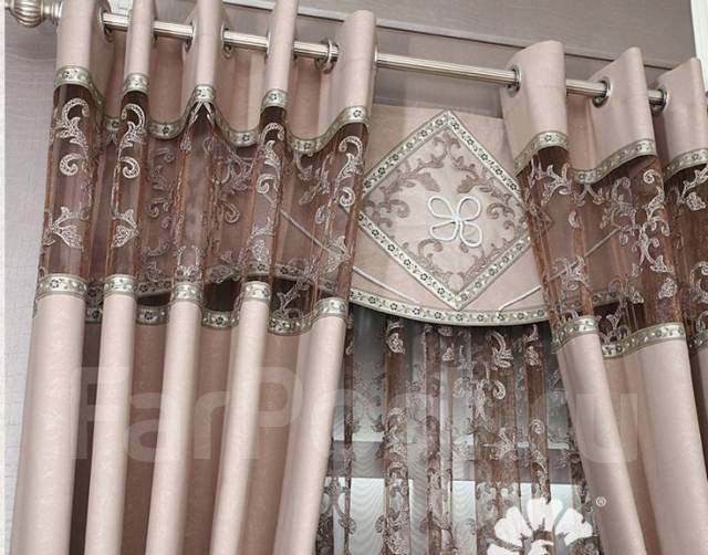 фото портьеры шторы