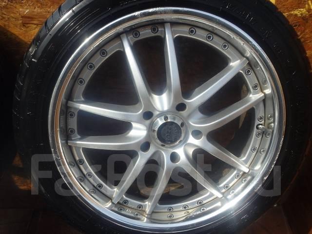 Отличные колеса R17 Mark II, Altezza, Aristo, Supra, Galant, Lancer. 7.0x17 5x114.30 ET38